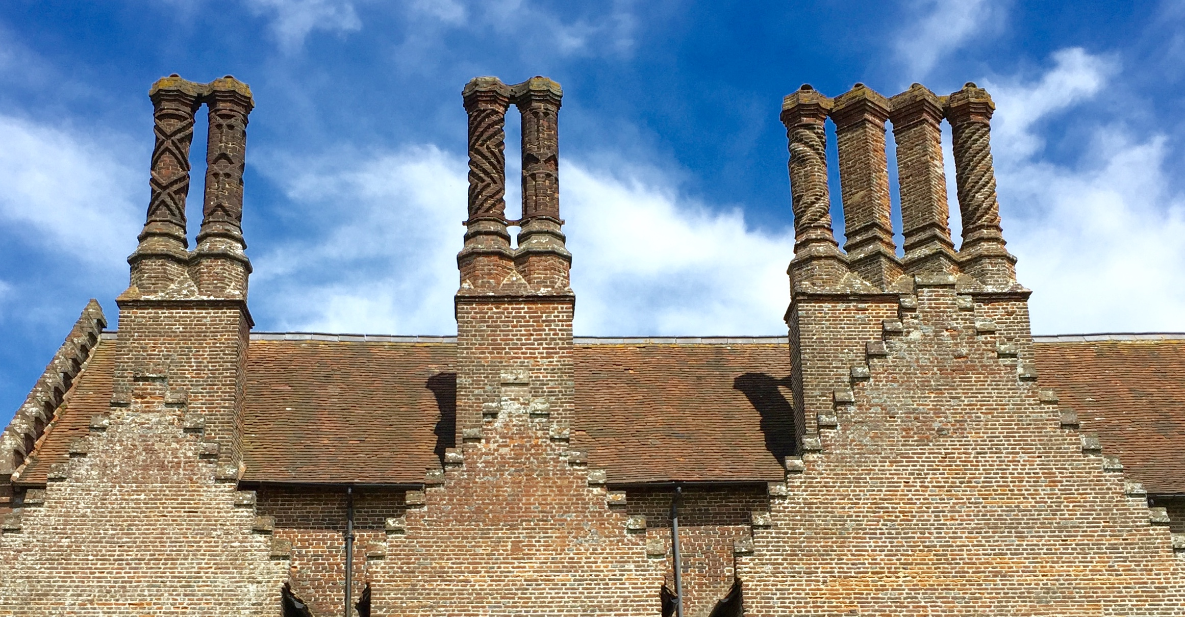 The bricks needed to construct Chenies Manor