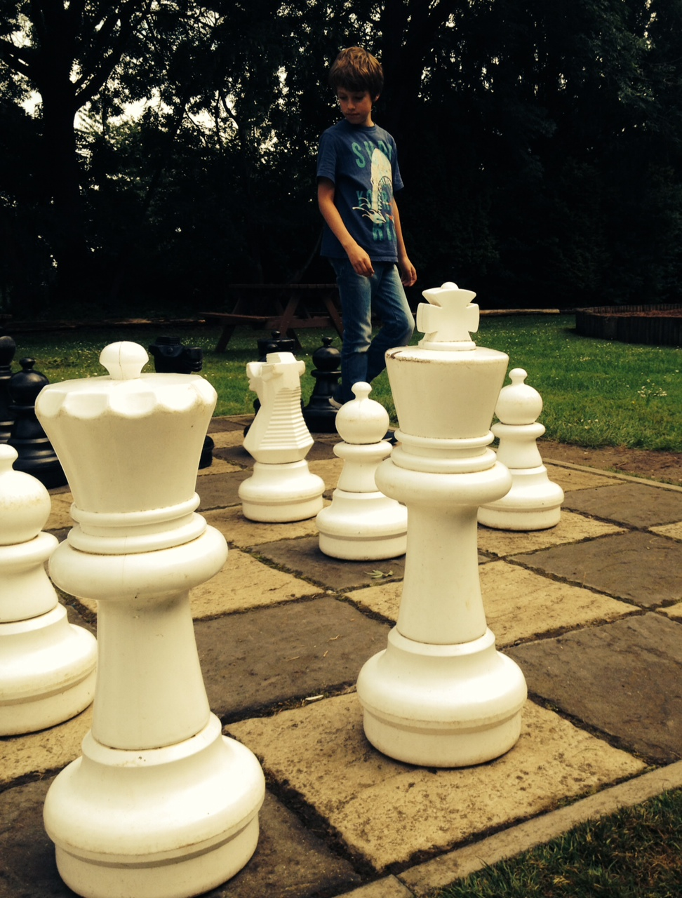 A chess challenge at Bletchley park